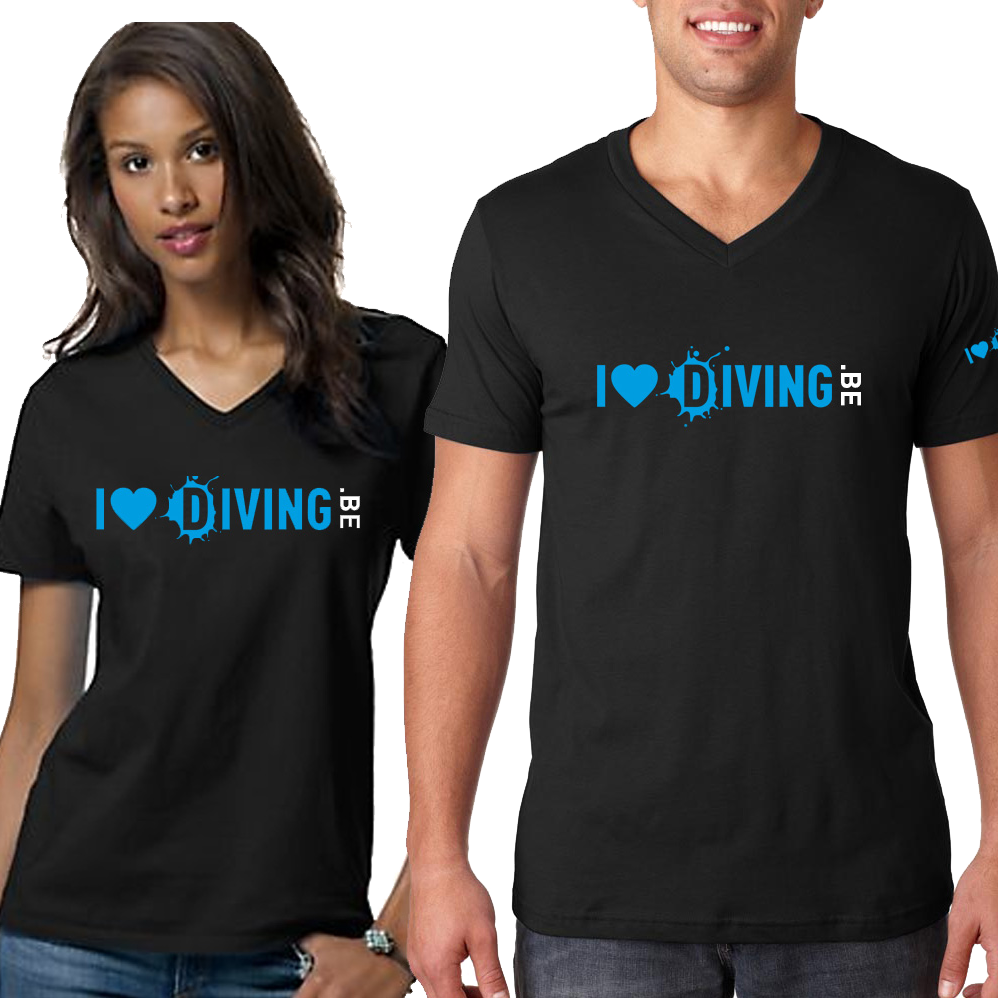 I love diving T-shirt - D-Center