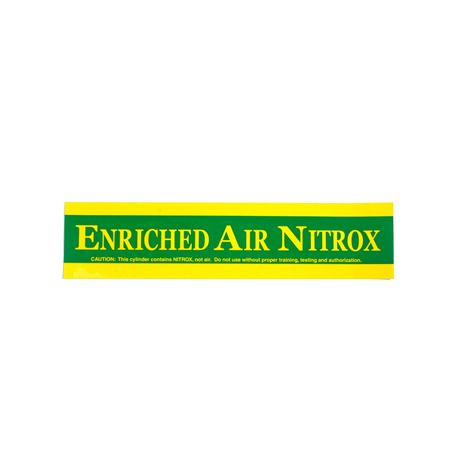Enriched Air Nitrox sticker | klein - D-Center