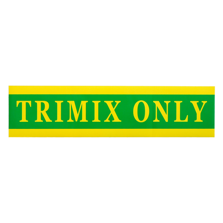 Trimix Only sticker | groot