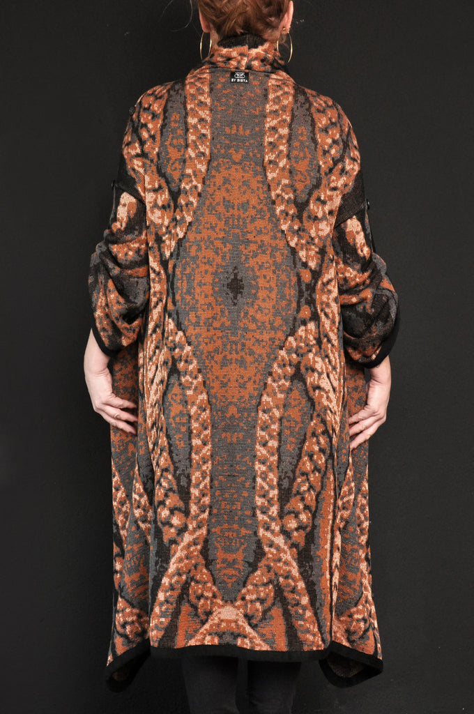 BRAID Knit Coat Sienna