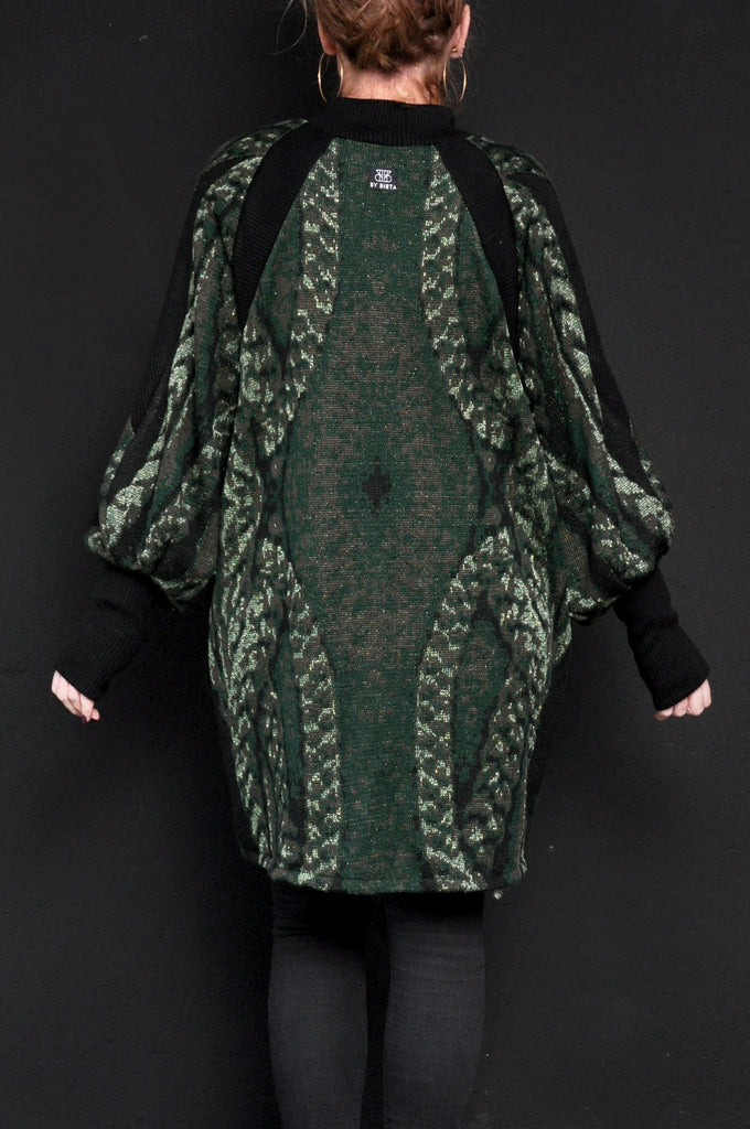 BRAID Turtle Neck Knit Green