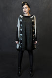 Chain Sweater/Black/Grey