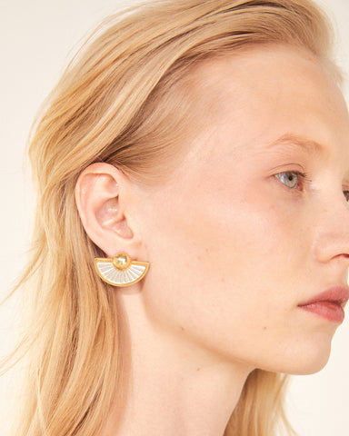 NUCLEUS SCALLOPS EARRINGS