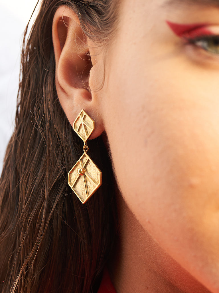 Venus Leaf Earrings