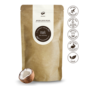 MARK Coffee Coconut (Kókusz) arcradír/testradír