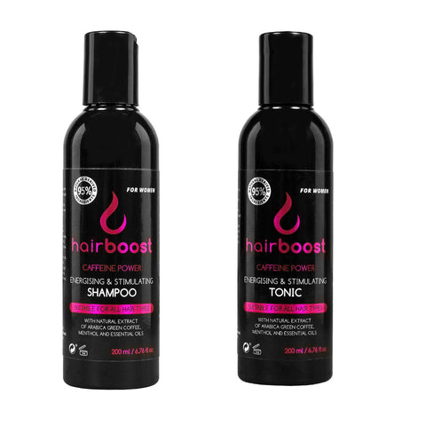 Hairboost Shampoo/Conditioner & Tonic Ladies