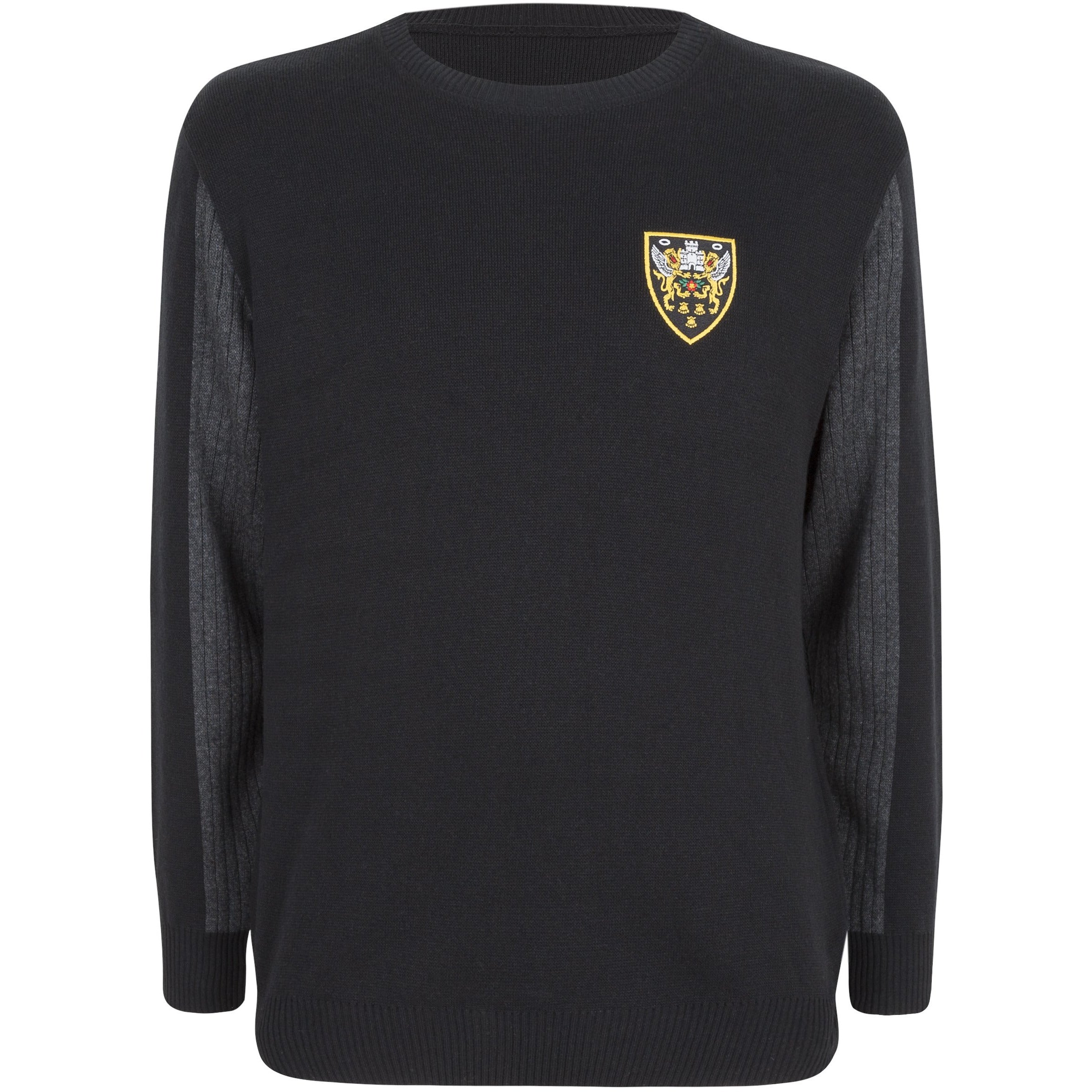 Crest Crew Neck Jumper
