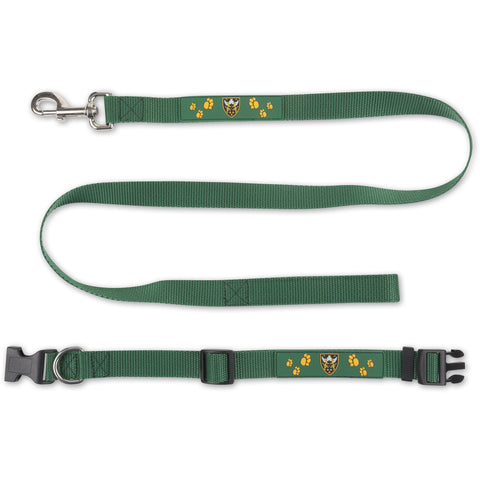 Saints Dog Lead & Collar Set