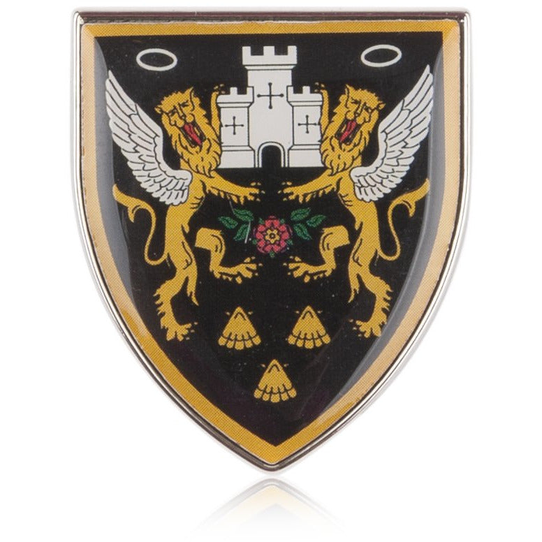 Crest Pin Badge