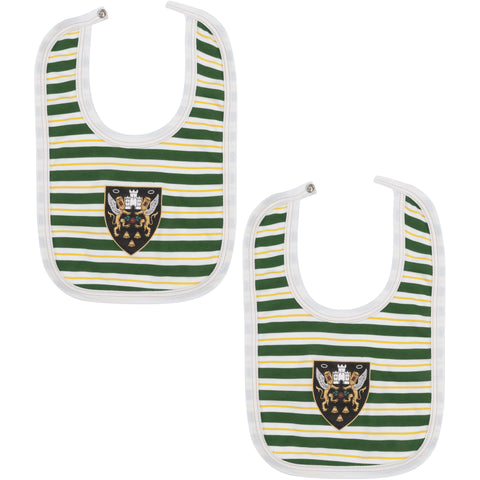 Saints 2 Pack of Bibs