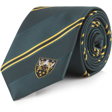 Saints Stripe Tie