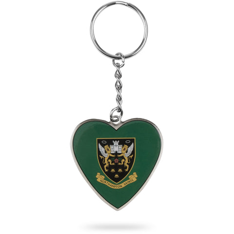 Saints Heart Keyring