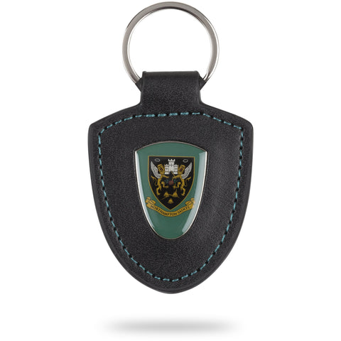 Saints Shield Keyfob