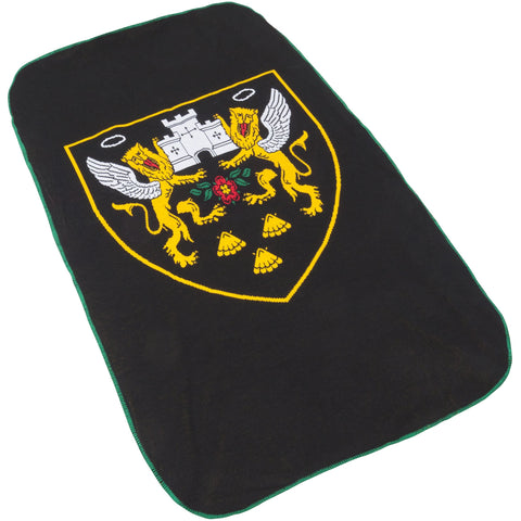 Crest Fleece Throw