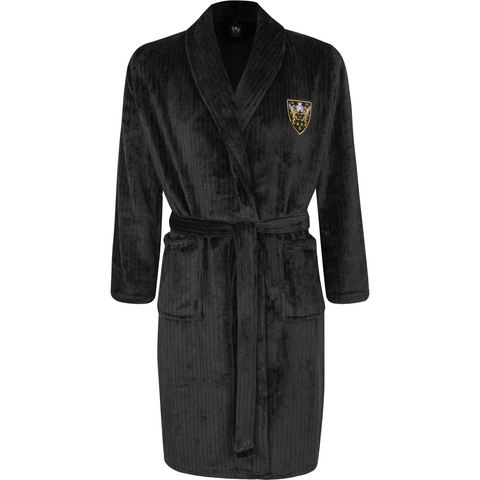 Mars Dressing Gown Black
