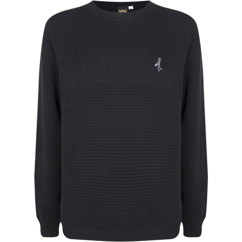 Full Ripple Crew Neck Jumper