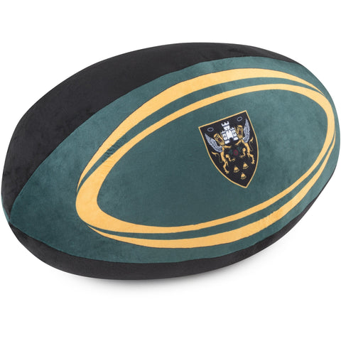 Saints Large Rugby Ball Cushion