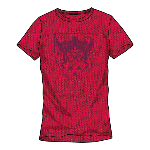 LADIES TONAL CREST T-SHIRT