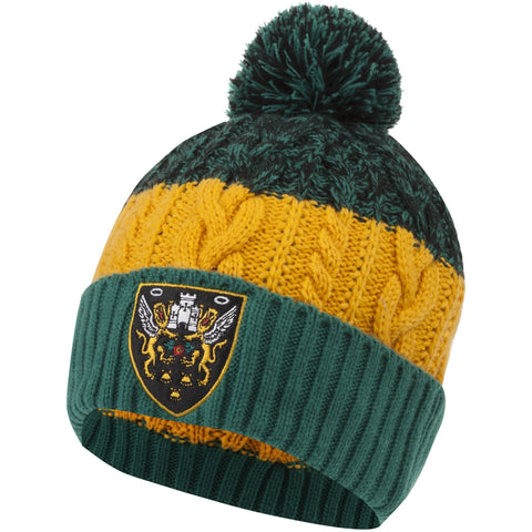 Northampton Saints Crest Cable Beanie