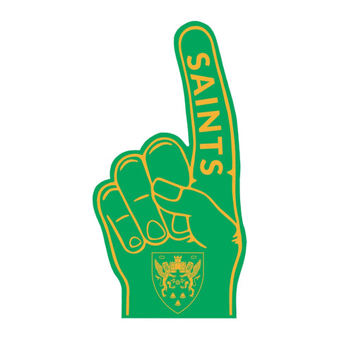 Saints Foam Hand