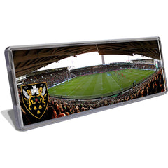 Panoramic Fridge Magnet Match Day
