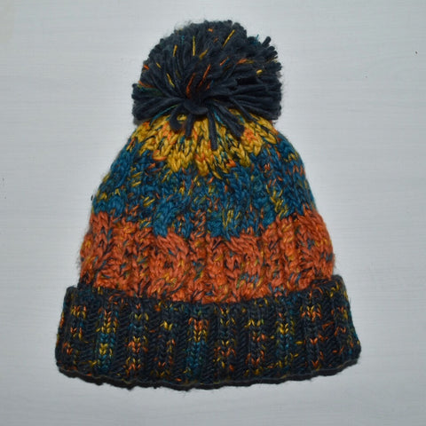 Chunky Beanie - Copper Coral