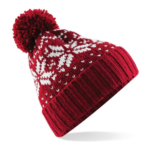 Kids Beanie Hat - Red