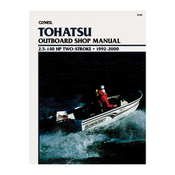 Clymer Tohatsu 2.5-140 HP Two-Stroke Outboards (1992-2000)