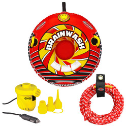 SportsStuff Brainwash Towable w/Rope & Pump Kit