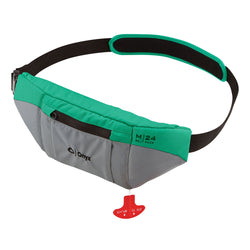 Onyx M24 Manual Inflatable SUP Belt Pack Life Jacket - Aqua