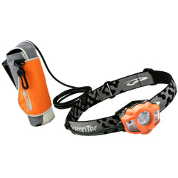 Princeton Tec Apex Extreme 350 Lumen LED Headlamp - Orange