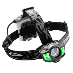 Princeton Tec APEX 350 Lumen LED Headlamp w/Green LEDs - Black
