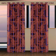 Window Curtains & Drapes Panel, Calypso