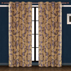 Window Curtains & Drapes Panel, Venus