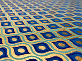 Lotus Eye Blue Gift Wrap, Handmade Cotton Rag Paper, Sheet
