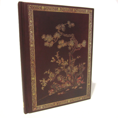 Chinese Traditional Design Journal Notebook with Embossed Cover