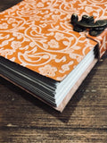 Bird Embossed Leather Journal