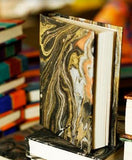 Marble Journal/Notebook with 100x Handmade Paper Pages