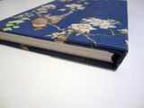 'Bullfinch and Cherry Tree' Floral Journal Notebook with Magnetic Closure