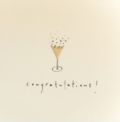 Pencil Shaving Card, Congratulations