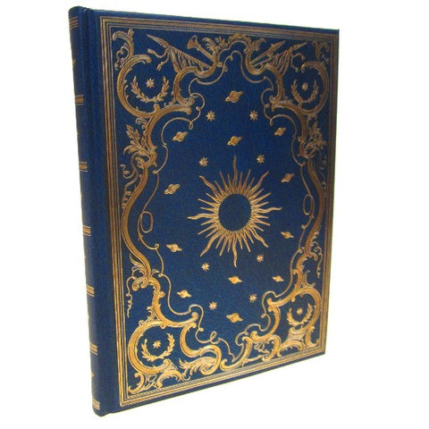 'Celestial' Journal Notebook with Gold Embossing and Gilding