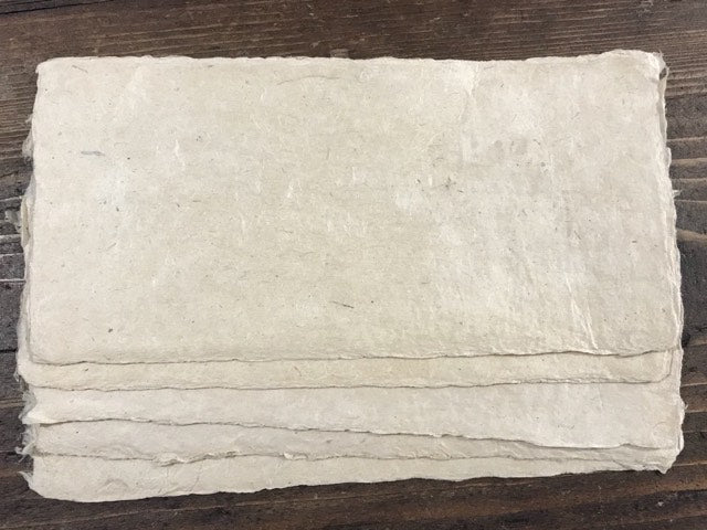 Artists Bhutanese Handmade Paper, 10x20cm (pack of 5)