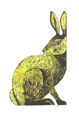 3D Greetings Card 'Earthen Hare'