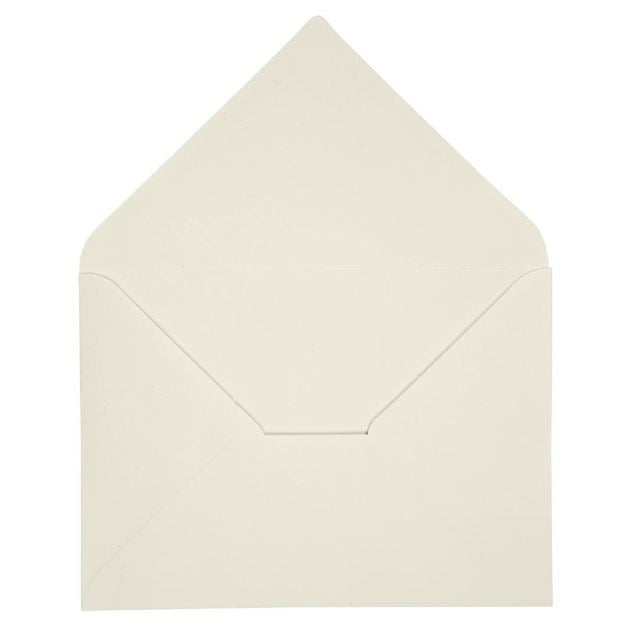 C6 Envelopes in Cream, pack of 10