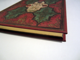 Floral Notebook Journal with Gold-Gilded Page Edging