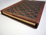 Gilded Mosaic Journal Notebook with Magnetic Case Closure