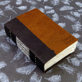 Personalised Natural Handmade Journal/Notebook with a  Sewn Soft Cover and Lokta Pages