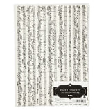 A4 Music Notes Natural Kraft Paper, pack of 10