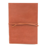Light Brown Tan Nepalese Leather 'Business Journal' Notebook, A4 or A5