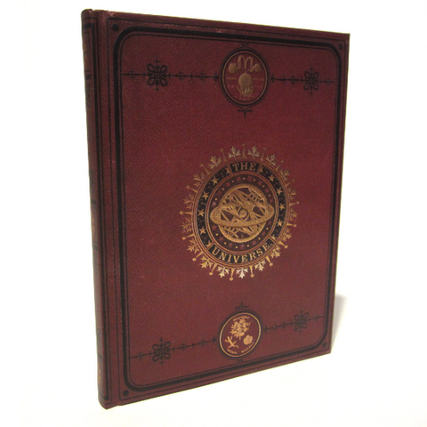'Universe' Earth Journal Notebook with Gold Gilded Edge